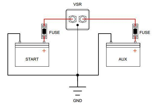 Voltage Sensitive Relay - IP66 Rated (A Smarter Version of Old Split Charge Relays)