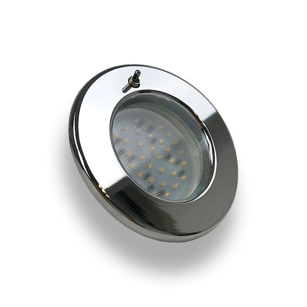 Pinto Light Switched Spotlight - 2W (Silver)