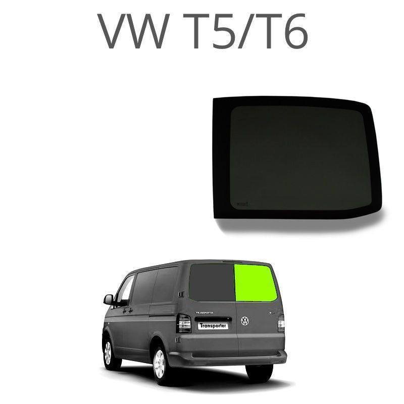 Right (only) Barn door windows (privacy) for VW T5 / T6