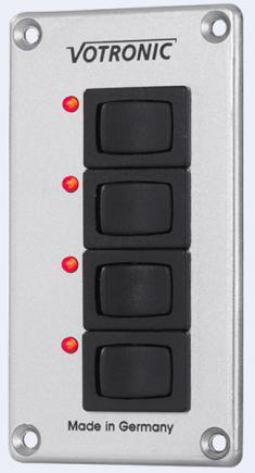 Votronic Switch Panel Each 8 Amp (12v)