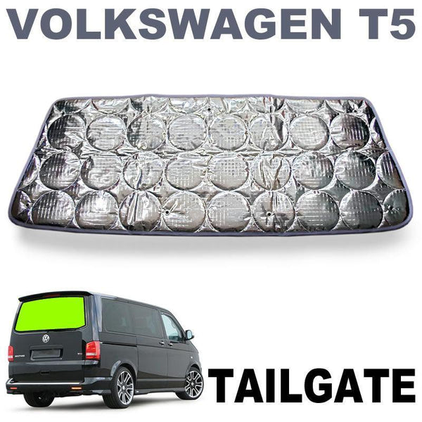 VW T5 / T6 Tailgate Silver Screen (No Wiper)