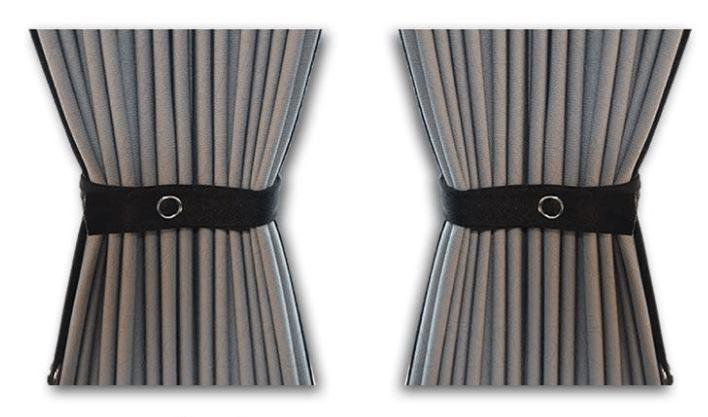 Ford Transit Custom Van Curtain Kit - Right Back SWB (BLACKOUT)