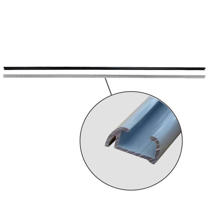 Straight Curtain Rail (for VW T5/T6 Tailgates Without Wipers)