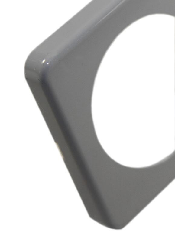 Berker Classic Frame - Grey Gloss (Choose Your Size)