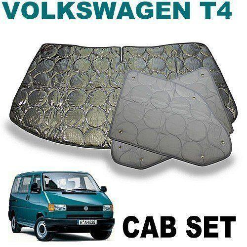 VW T4 Cab Silver Screens