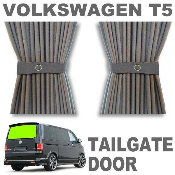 VW T5/T6 Curtain Kit - Tailgate Door (Grey)