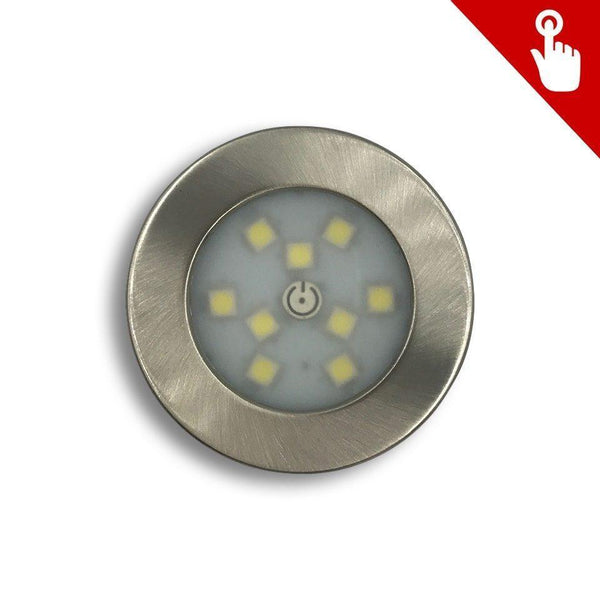 LED9 Touch DownLite LED Dim Light - 2W (Pure White Light)