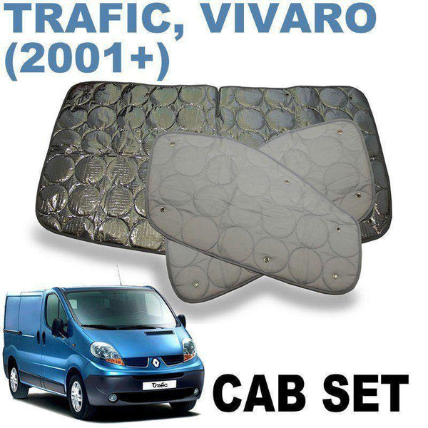 Trafic / Vivaro Cab Silver Screens (2nd Gen 2001-2014)