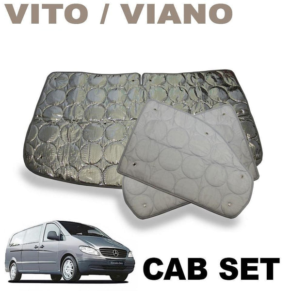 Vito / Viano Cab Silver Screens (2015+ Model 638)