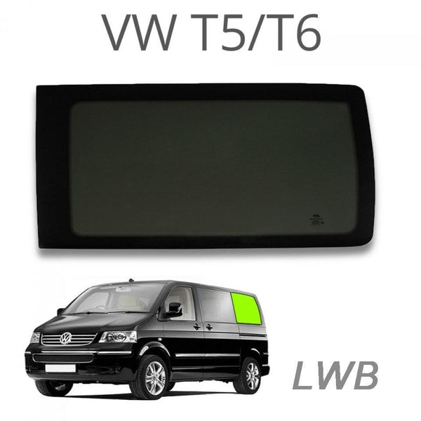 Left Rear Quarter Window (Privacy) For VW T5 / T6 LWB
