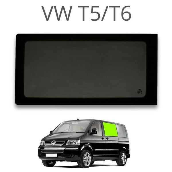 Left Fixed Window (Privacy) For VW T5 / T6 - Not A Sliding Door