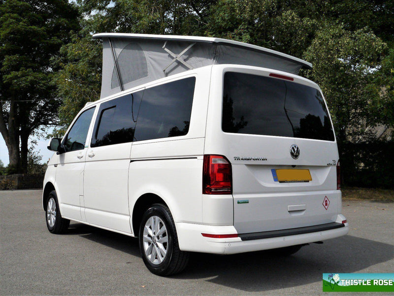 Right Rear Quarter Window (Privacy) For VW T5 / T6 - LWB