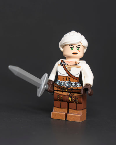 Cirri The Witcher 3 Custom LEGO Minifigure by Ktown Bricks