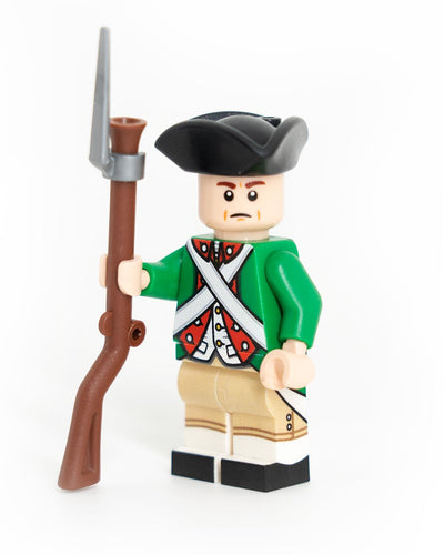 Custom Lego Revolutionary War Continental Marine Minifigure
