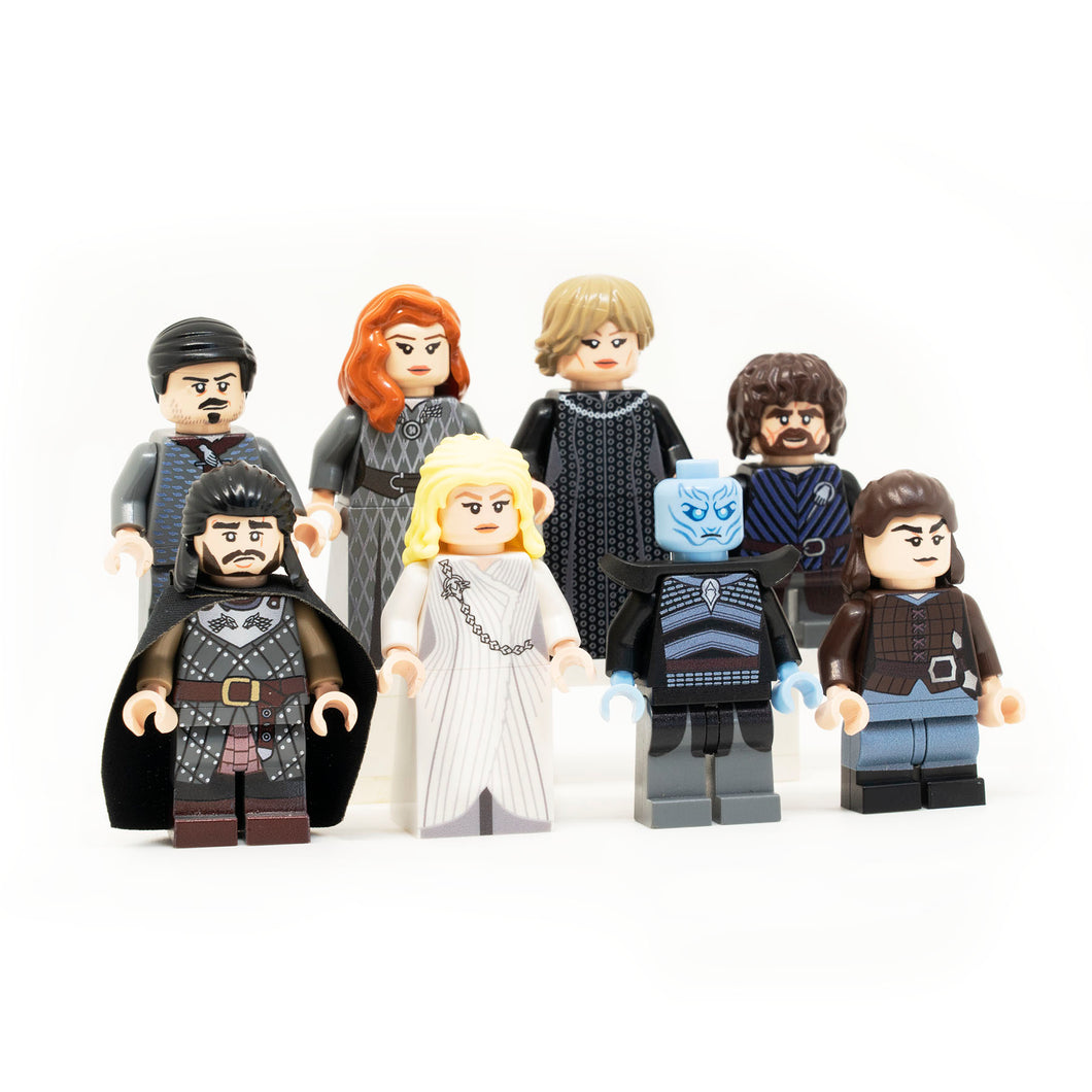 Game of Thrones Inspired Custom Minifigures LEGO