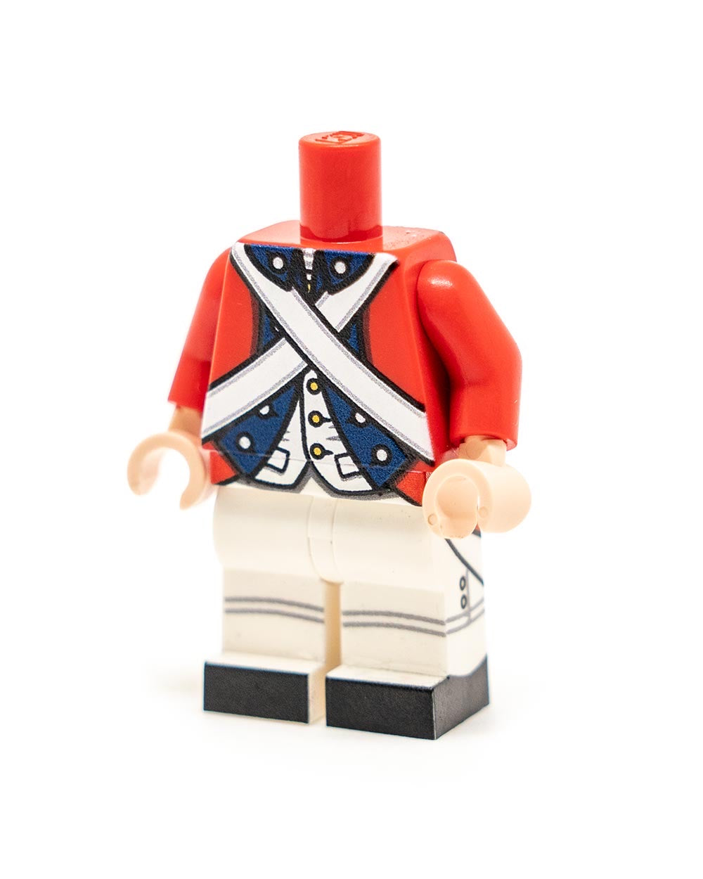 Revolutionary War British Blue Trim Body