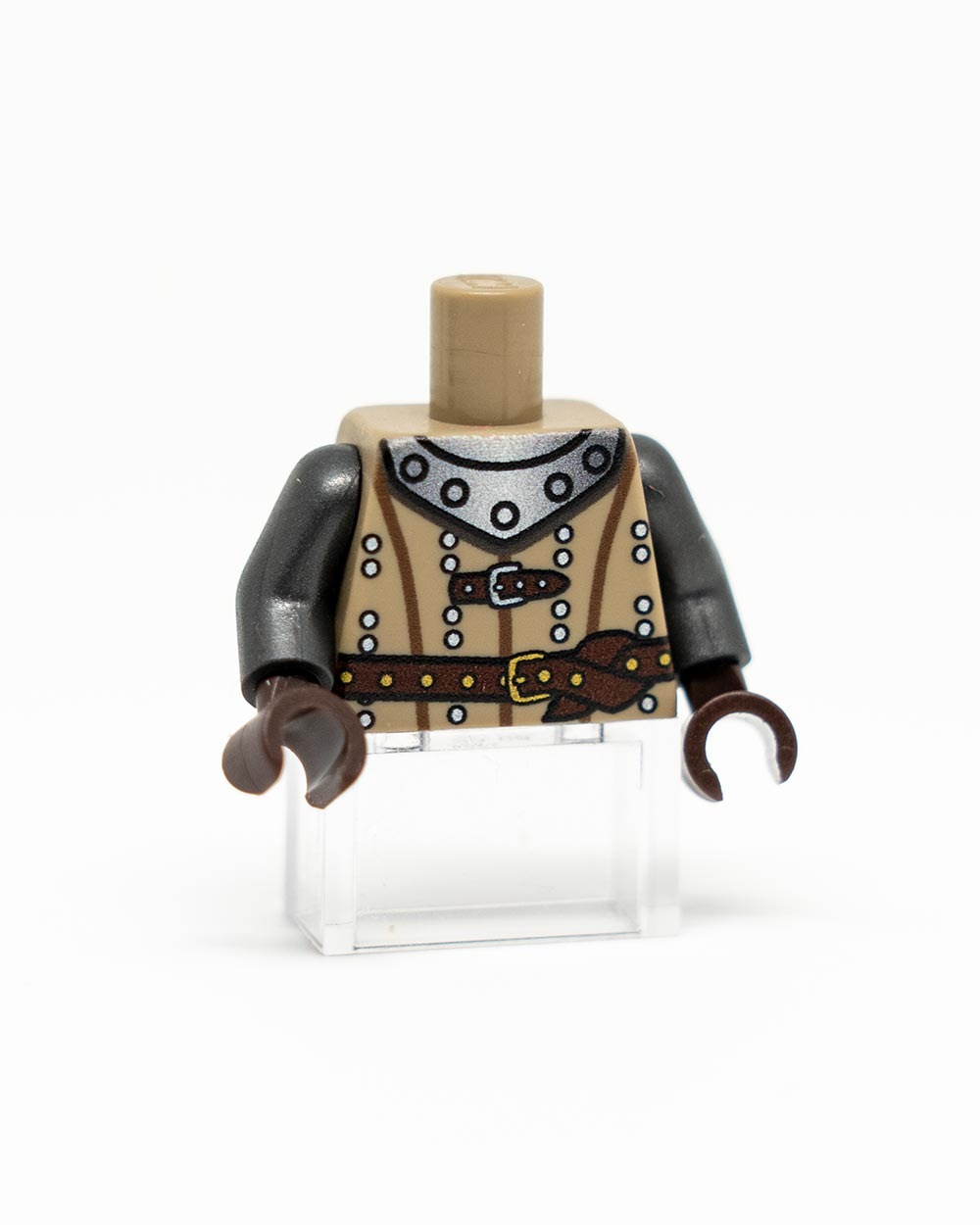 Custom LEGO Medieval Torso Dark Tan