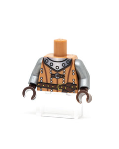 Custom LEGO Medieval Torso Medium Nugat