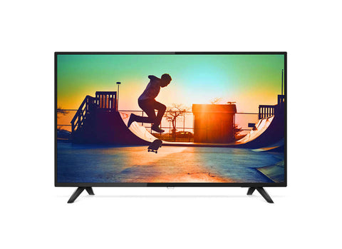 Philips 6000 series,126 cm (50in) 4K Ultra Slim Smart HD LED TV, Quad Core, DVB-T/T2, 3 Year Onsite Warranty