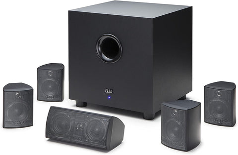 ELAC 5.1 Channel Speaker System with Active Subwoofer