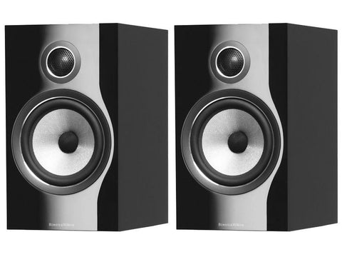Bowers & Wilkins 706 S2 ROSENUT 2-Way Shelf/ Stand Mount Speaker System (PAIR)
