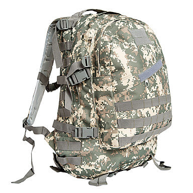 30 L Hiking Backpack Wearable Outdoor Camping / Hiking Hunting Oxford