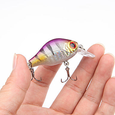 5 pcs Fishing Lures Hard Bait Minnow Crank Hard Plastic Floating Sea Fishing Bait Casting Spinning / Jigging Fishing / Freshwater Fishing / Bass Fishing / Lure Fishing / General Fishing