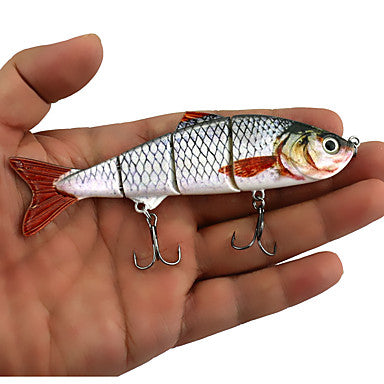 5 pcs Jerkbaits Minnow Sinking Sea Fishing Bait Casting Spinning / Freshwater Fishing / Bass Fishing / Lure Fishing / General Fishing / Trolling & Boat Fishing
