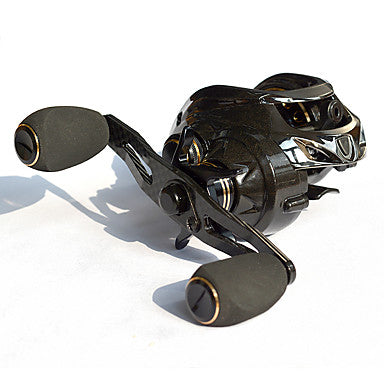 Fishing Reel Baitcasting Reel 7:2:1 Gear Ratio+18 Ball Bearings Left-handed Sea Fishing - CT