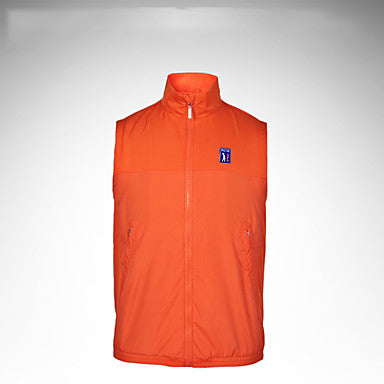 Men's Jacket Sleeveless Golf Autumn / Fall Spring Summer / Stretchy / Breathable / Solid Color