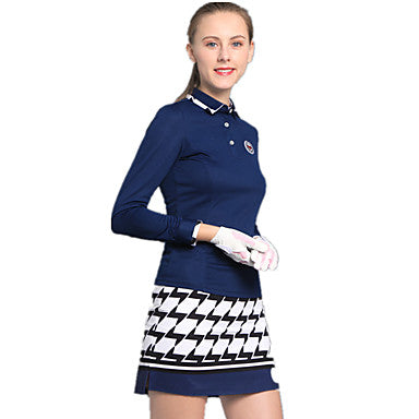 Women's 2pcs Skirt Skort Top Clothing Suit Golf Outdoor Exercise Sports & Outdoor Spring Summer Fall / Windproof