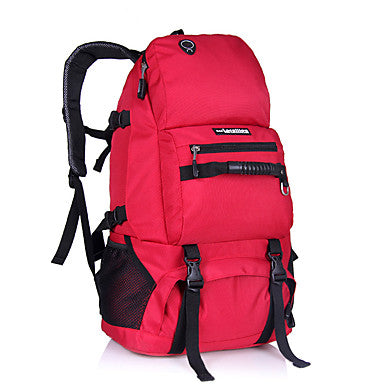 40 L Rucksack Multifunctional Breathable Rain Waterproof Dust Proof Outdoor Camping / Hiking Climbing Leisure Sports Black Red Gray