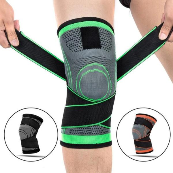 Breathable Bandage Knee Brace Knee Support Professional Protective Sports Strap - Manu-Health  & Beauty