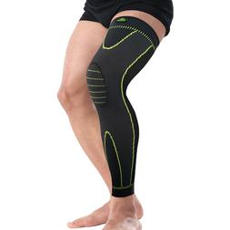 Hot Elastic Stripe Sports breathable Knee Pad Leg Sleeve Protection - Manu-Health  & Beauty