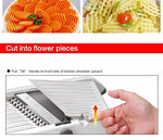 LEKOCH Onion Grater Shredder Grinder Adjustable Fruit Vegetable Cutter Potato Slicer Kitchen Tools Accessories Gadgets Chopper - Manu-Health  & Beauty