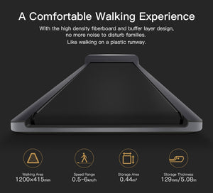 WalkingPad A1 Smart Electric Foldable Treadmill Jog Space Walk Machine Aerobic Sport Fitness Equipment For Home Xiaomi Ecosystem - Manu-Health  & Beauty