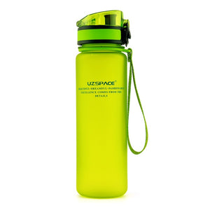 Explosion Sports Water Bottles / 500ML 1L Protein Shaker Outdoor Travel Portable/ Leakproof Tritan plastic Bottle BPA Free