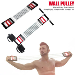 Muti-functional Spring Chest Developer Expander Fitness Tension Puller - Manu-Health  & Beauty
