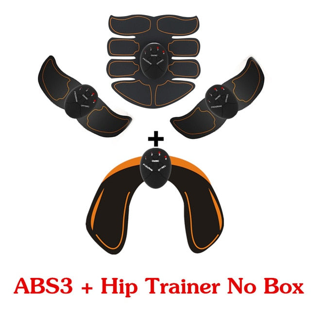 Hip Trainer Abdominal machine electric muscle stimulator ABS ems Trainer Body slimming Massage without retail box
