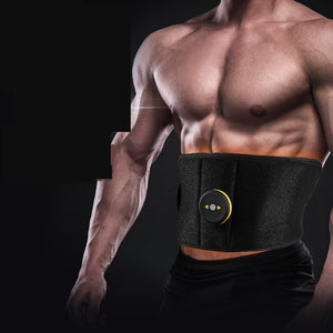 Wireless Vibration Fitness Massager Body Slimming Belts Electric Muscle Stimulator Trainer EMS Abdominal Abs Toning Belt - Manu-Health  & Beauty