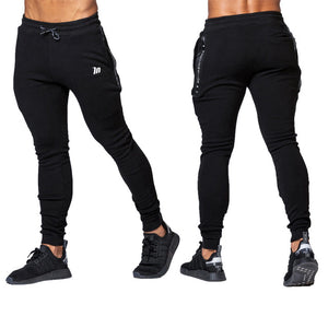 Men's High quality Brand Men pants Fitness Casual Elastic Pants bodybuilding clo - Manu-Health  & Beauty