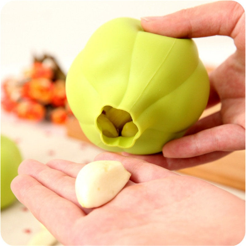 Creative Rubber Garlic Peeler Garlic Presses Ultra Soft Peeled Garlic Stripping Tool Home Kitchen Accessories - Manu-Health  & Beauty