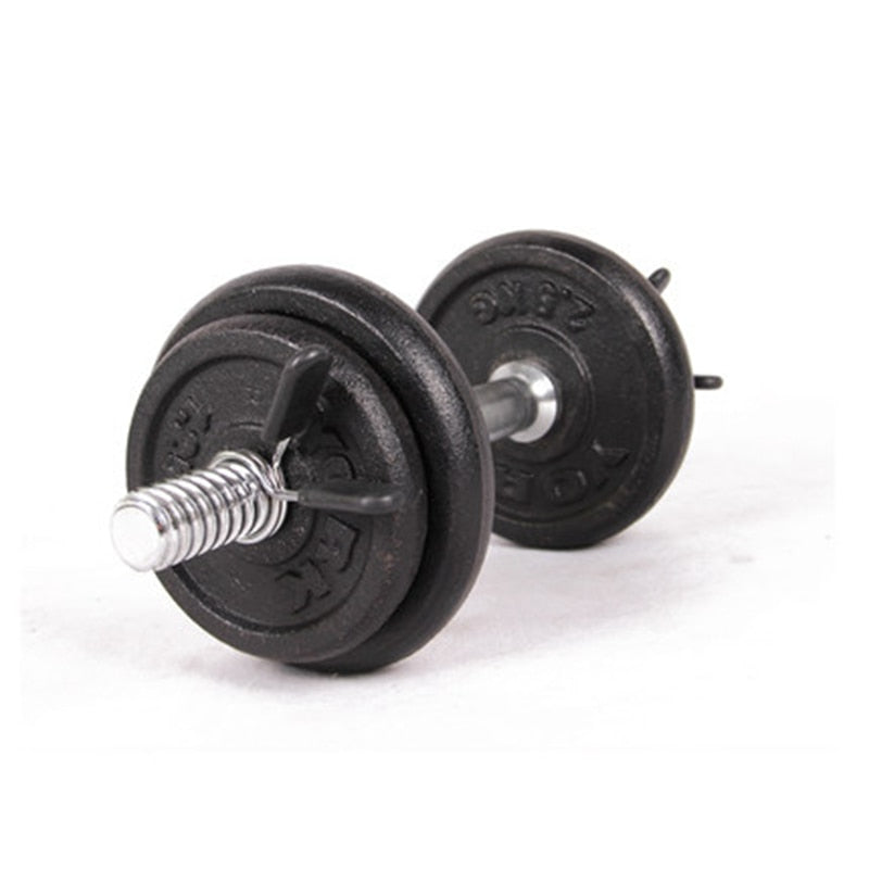 Barbell Lock 2Pcs 30mm Barbell Gym Weight Lifting Bar Dumbbell Lock Clamp Spring Collar Clips - Manu-Health  & Beauty