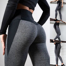 Load image into Gallery viewer, High Waist Women Yoga Pants Push Up Breathable Fitness Sports Leggings Running Tights Sportswear Slim Gym Clothing Female Gray