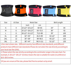 Fitness Belt Xtreme Power Thermo Body Shaper Waist Trainer Trimmer Corset Waist Belt Cincher Wrap Workout Shapewear Slimming - Manu-Health  & Beauty