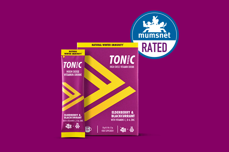 TONIC HEALTH IS THE FIRST IMMUNE SUPPORT DRINK TO BE MUMSNET RATED