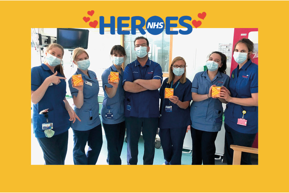 TONIC HEALTH DONATES TO NHS SUPERHEROES