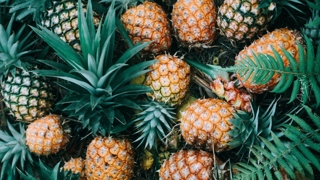 pineapple with health benefits for cold and cough