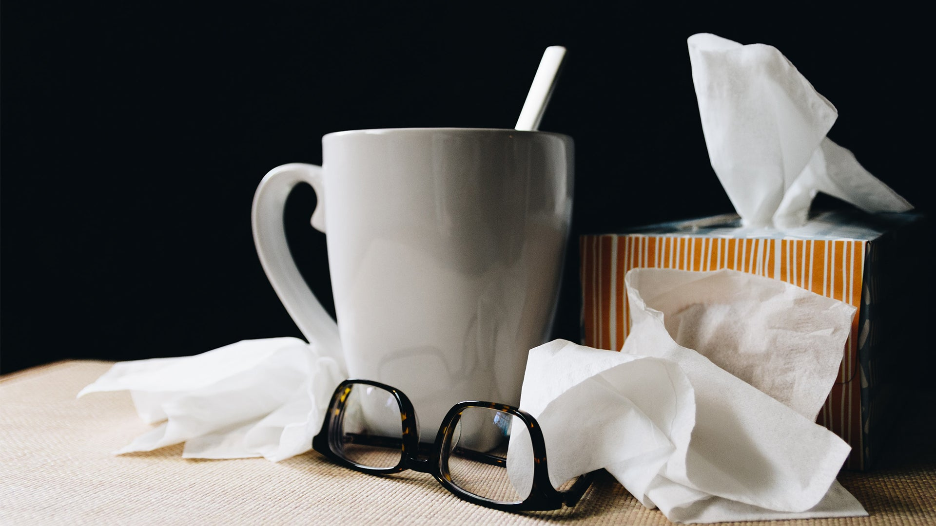 Blocked Nose Tissue Box