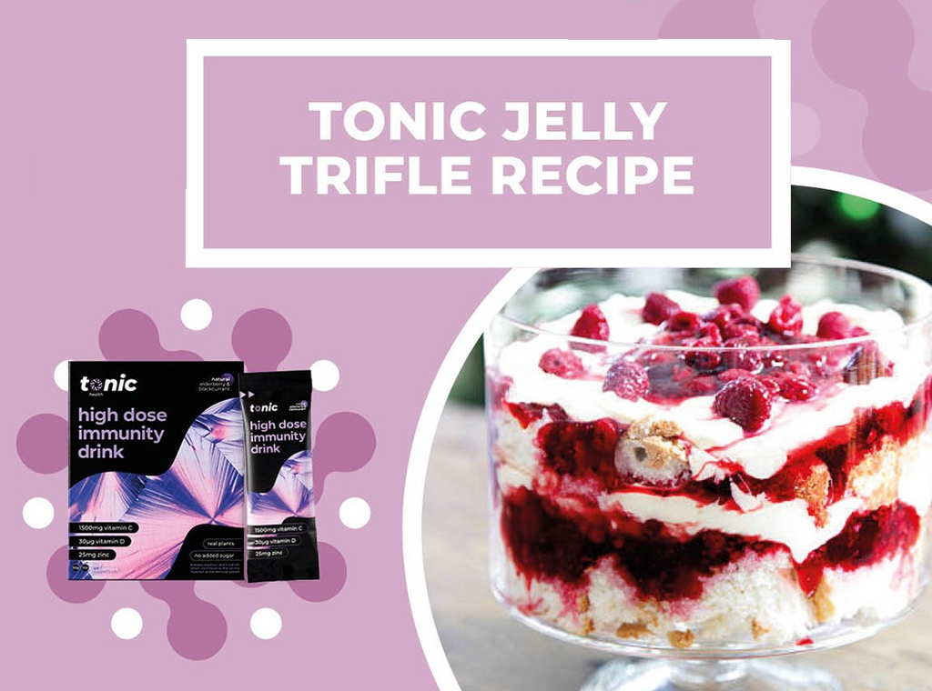 Tonic Jelly Trifle